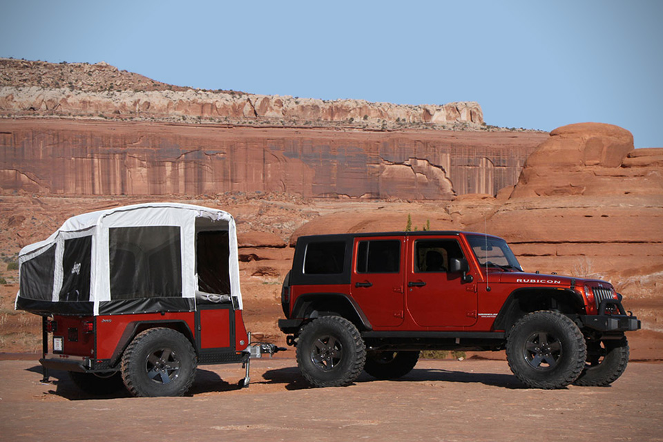 Jeep and Mopar are the first in the industry to offer off-road c
