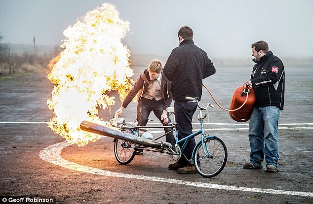 The JET Bicycle - The most dangerous unsafe bike EVER 1