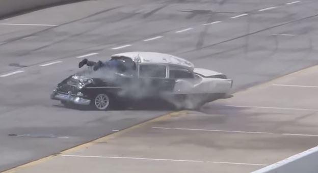1955-Chevrolet-Bel-Air-Crash-Drag-Race