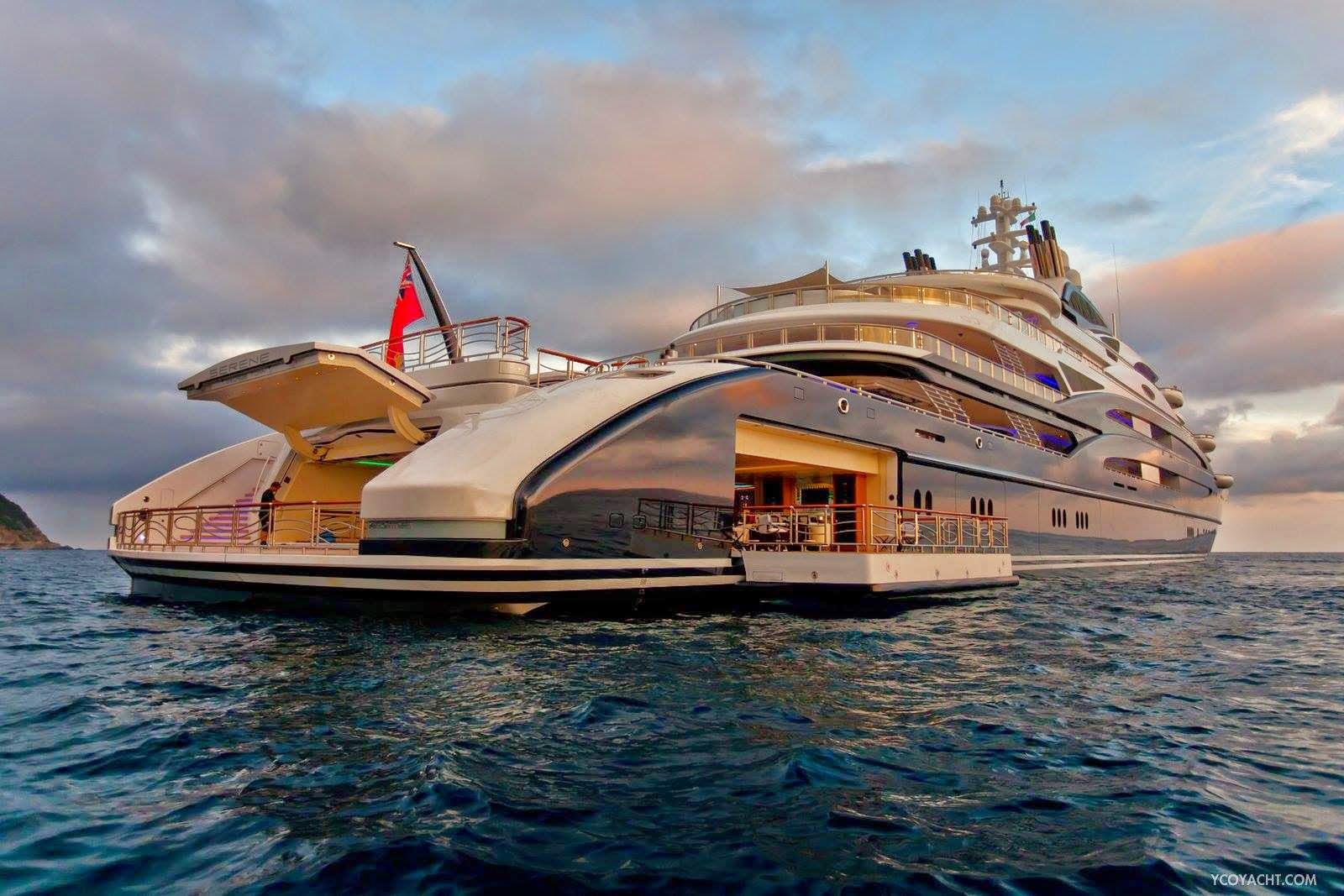 Luxury Yacht Fincantieri Serene ghtzjfj