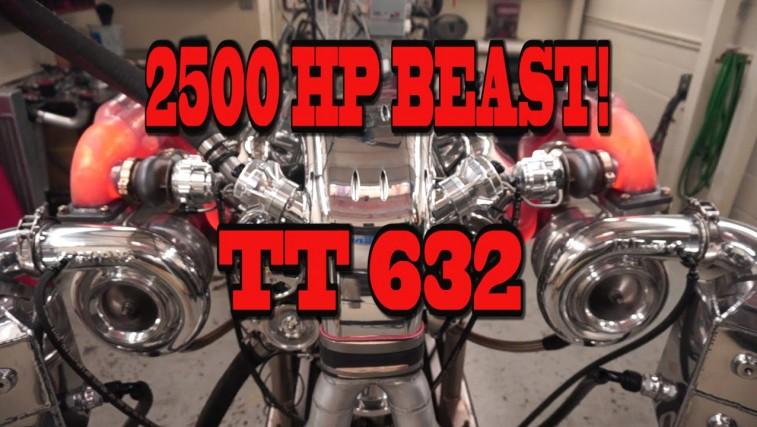 2500 HP Beastly Mirror Turbo 632 Big Block From NRE!