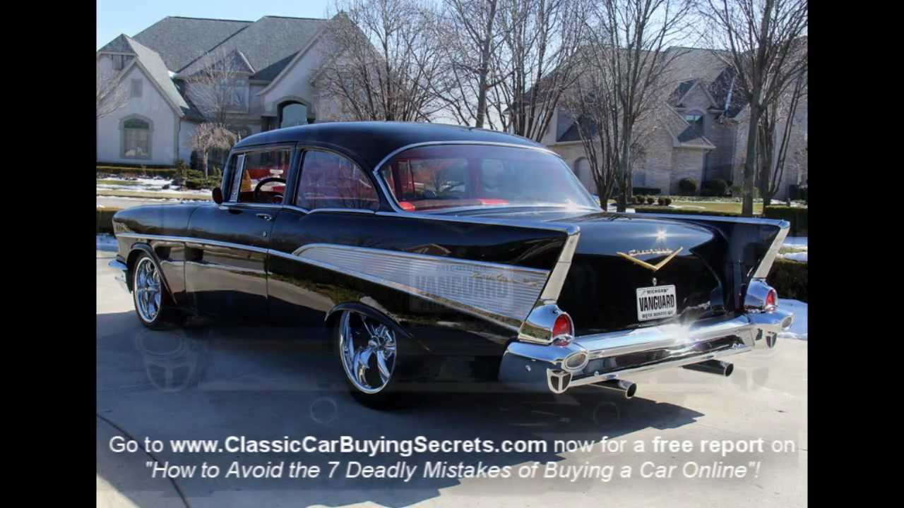 NASTY 57 Chevy With 632 Cubic Inches Of American Muscle