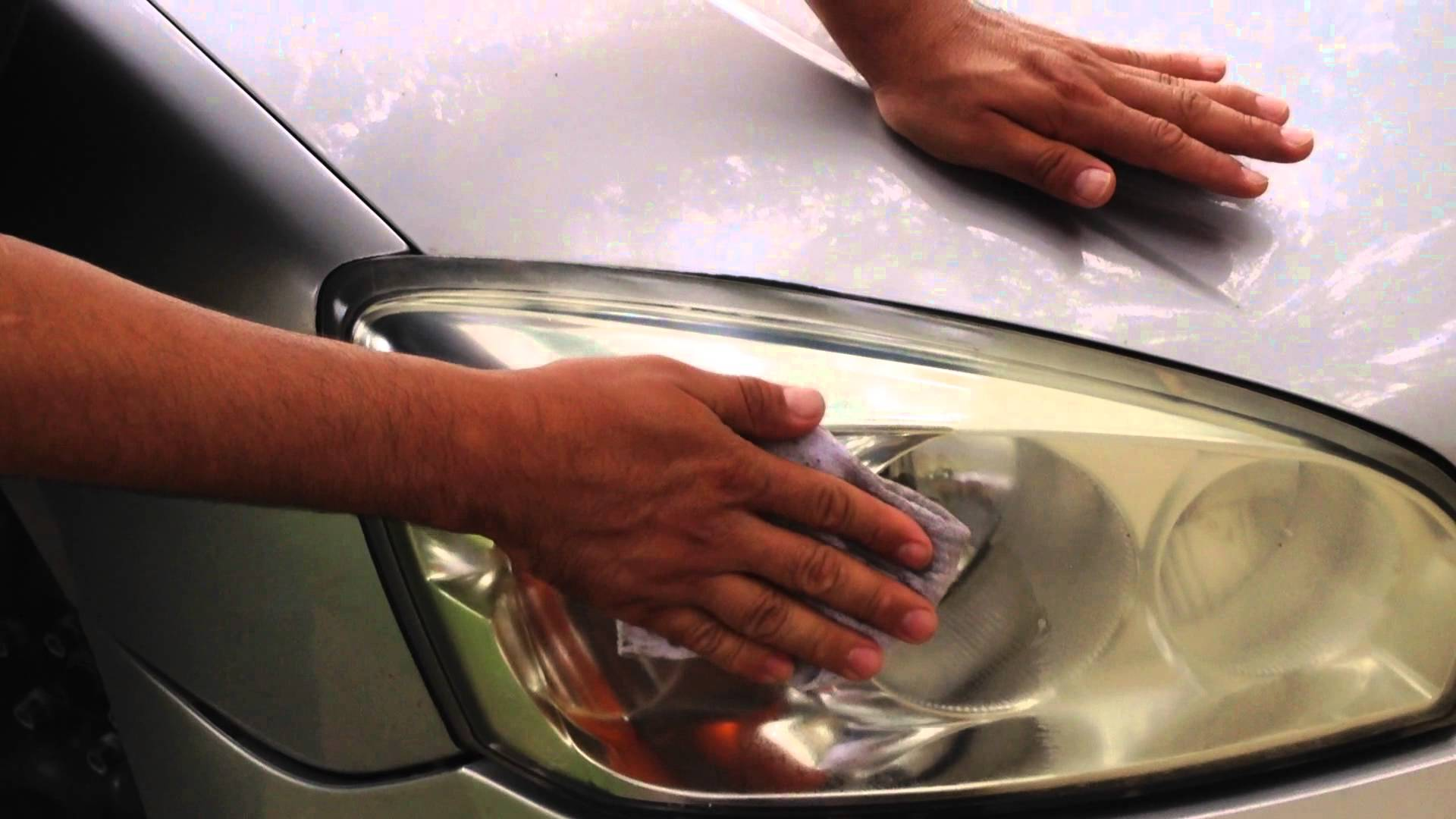 HOW TO  Repair Your Car's Yellow Headlights