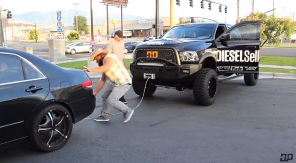 diesel-dave-takes-revenge-gasser-makes-mistake-parking