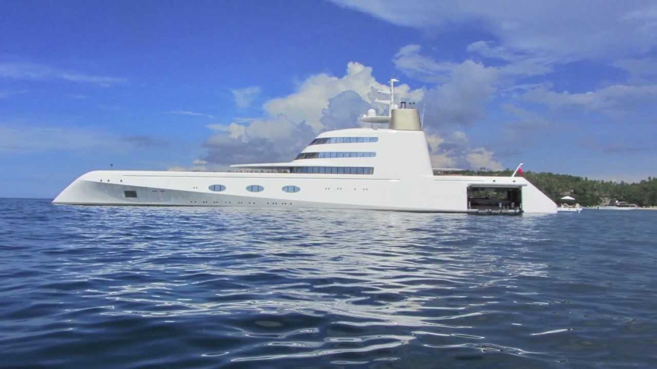 Exclusive inside view of the 300 Million dollar yacht!