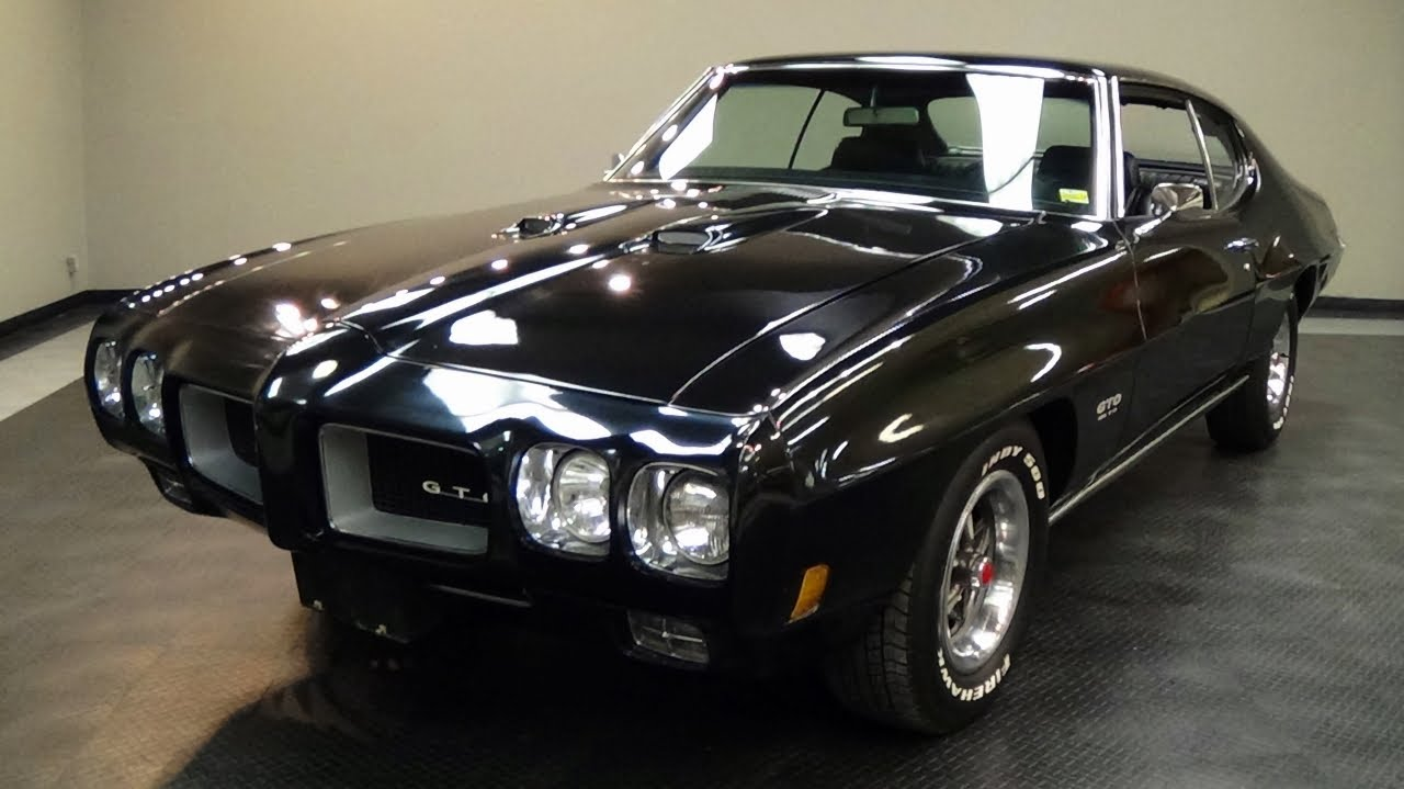 1970 Pontiac GTO 455 V8