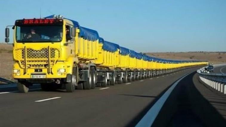 The World's Longest Truck – Road Trains in Australia