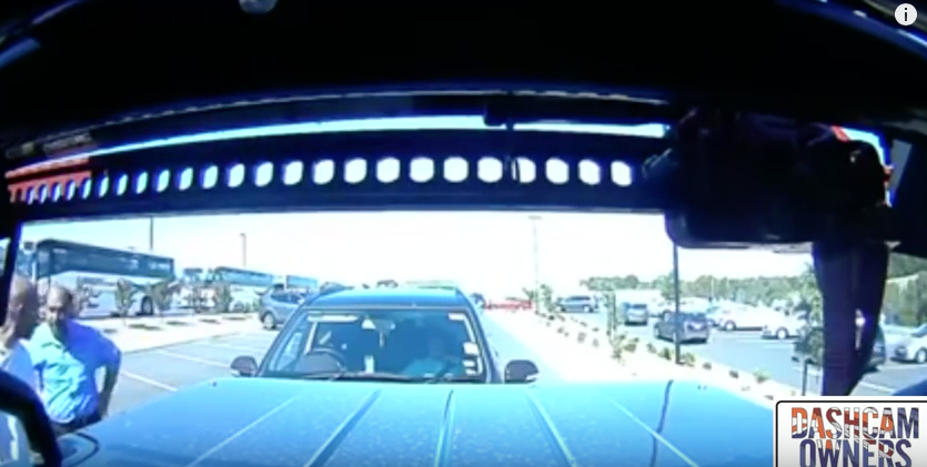 Driver caught lying on dash cam!