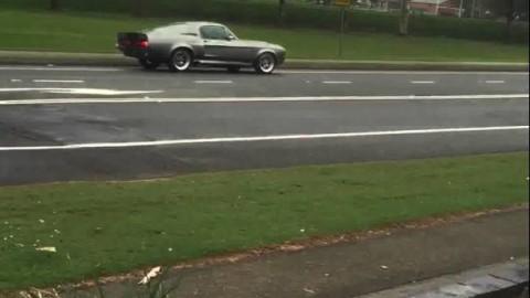 Shelby Mustang Eleanor GT500 CRASH!