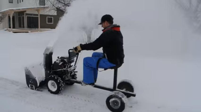 Snow Blower Sulky
